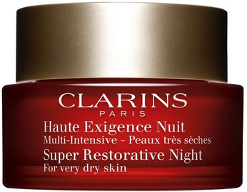 Sejas krēms Clarins Super Restorative Night Cream For Very Dry Skin, 50 ml