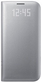 Samsung LED Flip Cover For Samsung Galaxy S8 Plus Silver