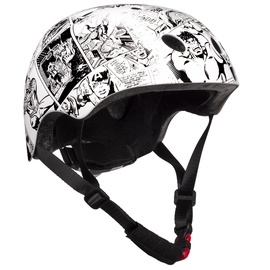 Шлем Disney Avengers 9082, белый/черный, 540 - 580 мм