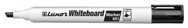 Baltās tāfeles marķieris Luxor Whiteboard Marker Black 651