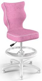 Bērnu krēsls Entelo Petit HC+F Size 4 VS08 White/Pink, 370x350x950 mm