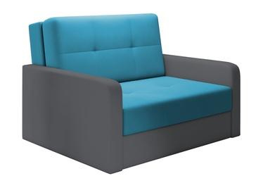 Dīvāngulta Idzczak Meble Top 2 Blue, 132 x 104 x 92 cm