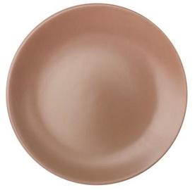 Cesiro Matted Dinner Plate D26cm Beige