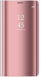 Mocco Clear View Case For Xiaomi Redmi Note 9 Pink