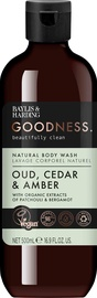 Baylis & Harding Goodness Body Wash 500ml Oud/Cedar/Amber