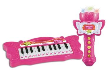 Komplekts Bontempi iGirl Eectronic Keyboard With Karaoke Microphone