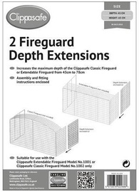 Clippasafe Fireguard Depth Extensions 2pcs