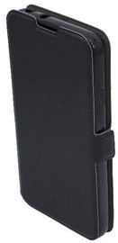 TakeMe Super Slim Shine Book Case For Samsung Galaxy J4 Plus J415 Black