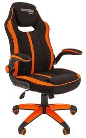 Spēļu krēsls Chairman Game 19, melna/oranža