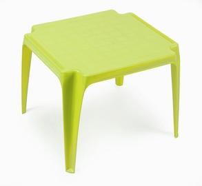 Стол детский пластиковый зеленый 55x50x44