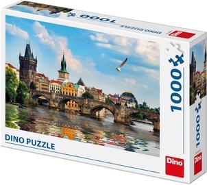 Пазл Dino Charles Bridge Prague, 1000 шт.