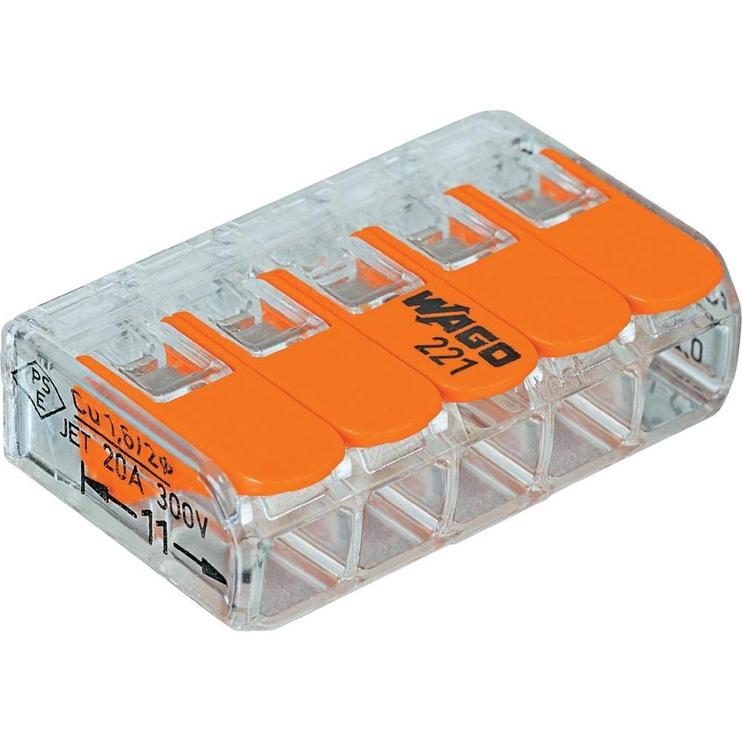 KLEMME SAV. 5X0.2-4MM2 32A/450V 5GAB