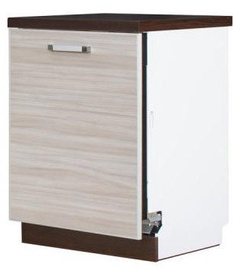 Virtuves skapītis Bodzio Ola Dishwasher Cabinet Closed 60 Latte, 600x590x860 mm