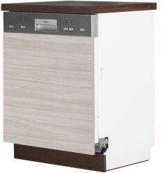 Нижний кухонный шкаф Bodzio Sandi KSZZ60-LA, серый, 600x590x860 мм