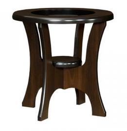 Kafijas galdiņš Bodzio S01 Walnut, 600x600x590 mm