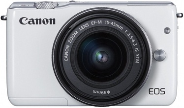 Canon EOS M10 + EF-M 15-45mm IS STM White