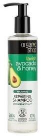 Šampūns Organic Shop Avocado & Honey, 280 ml