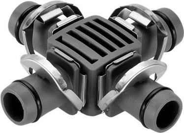Gardena Micro-Drip-System 4-Way Coupling 13 mm 1/2""