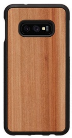Man&Wood Cappuccino Back Case For Samsung Galaxy S10e Black/Brown