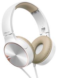 Austiņas Pioneer SE-MJ722T White/Gold