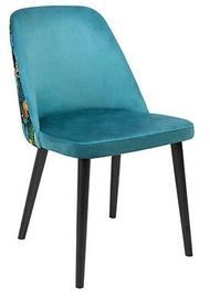 Ēdamistabas krēsls Black Red White Aka, zila