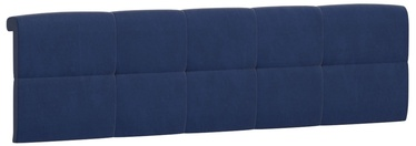 Black Red White Tetrix Headboard Upholstered Cover 140 Blue