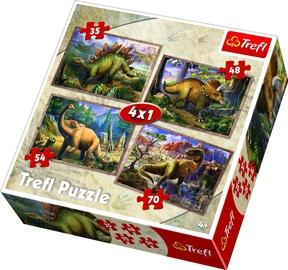 Trefl Dinosaurs 4 in 1 Puzzle 34249