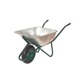 SN Wheelbarrow Profi 1027 110L Silver/Green