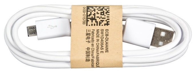 Samsung ECB-DU4AWE Universal Micro USB Data/Charger Cable 1m White