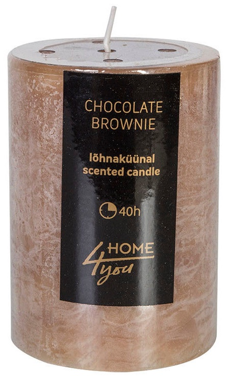 Home4you Candle Chocolate Brownie D6.8xH9.5cm