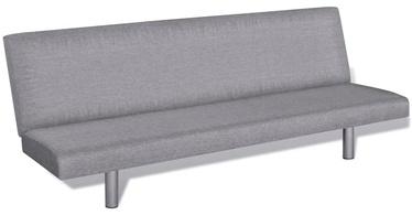 Dīvāngulta VLX Polyester 241656, pelēka, 168 x 76 x 66 cm