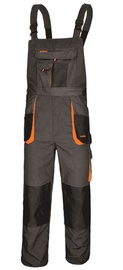 Art.Master Classic Working Bib Pants Grey/Orange 48