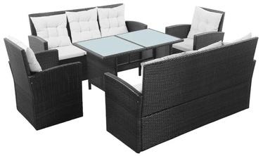 Āra mēbeļu komplekts VLX 5 Piece Garden Lounge Set With Cushions 43972