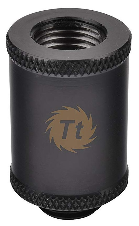 Thermaltake CL-W047-CU00BL-A 30 mm Pacific G1/4 Female to Male Extender Black