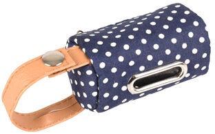 Karlie Flamingo Dot Riri Poop Bag Holder Blue