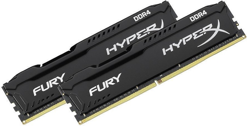 Kingston HyperX Fury Black 32GB 3466MHz CL19 DDR4 KIT OF 2 HX434C19FBK2/32