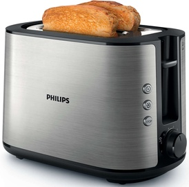 Philips Toaster Viva Collection HD2650/90 Silver