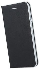 TakeMe Metal Edge Shine Book Case For Samsung Galaxy J4 Plus J415 Black