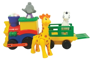 Interaktīva rotaļlieta Kiddieland Light And Sound Activity Train 053884
