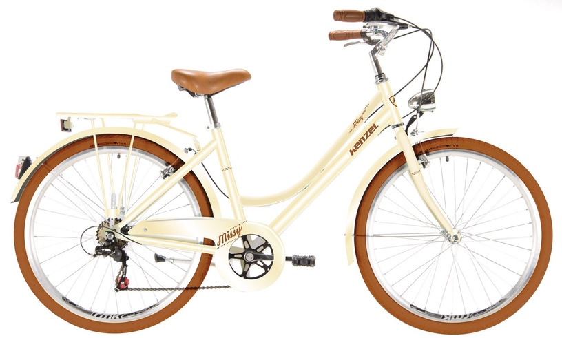 "Велосипед Kenzel Missy Royal 44 Beige, 17.5"", 26″"