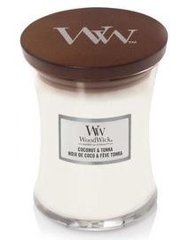 Ароматическая свеча WoodWick Coconut & Tonka White, 275 г