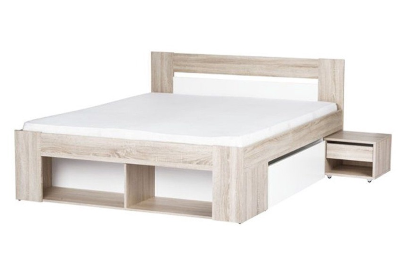 Szynaka Meble Bedroom Set Milo With 160x200cm Bed