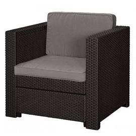 Dārza krēsls Keter Provence, brūna, 76x67x77 cm