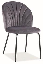 Ēdamistabas krēsls Signal Meble Lola Velvet Grey