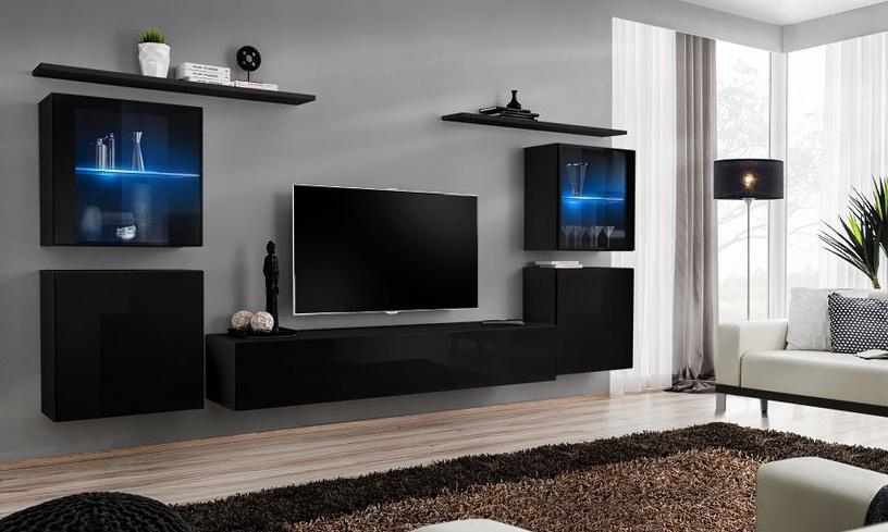 ASM Switch SW 3 Hanging Cabinet Black