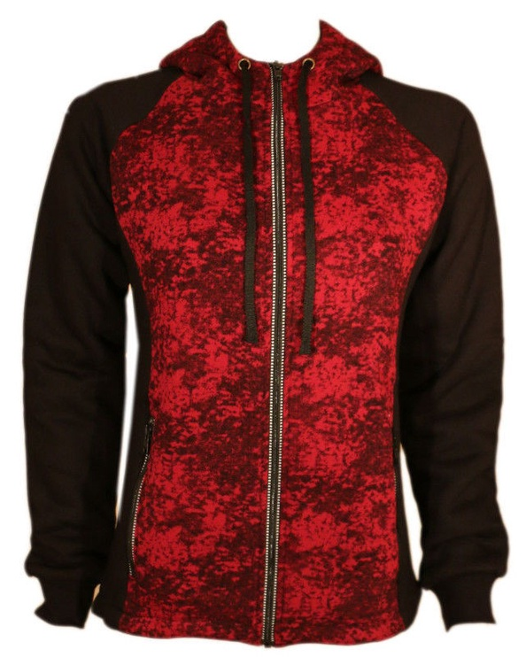 Bars Training Jacket Black/Red L