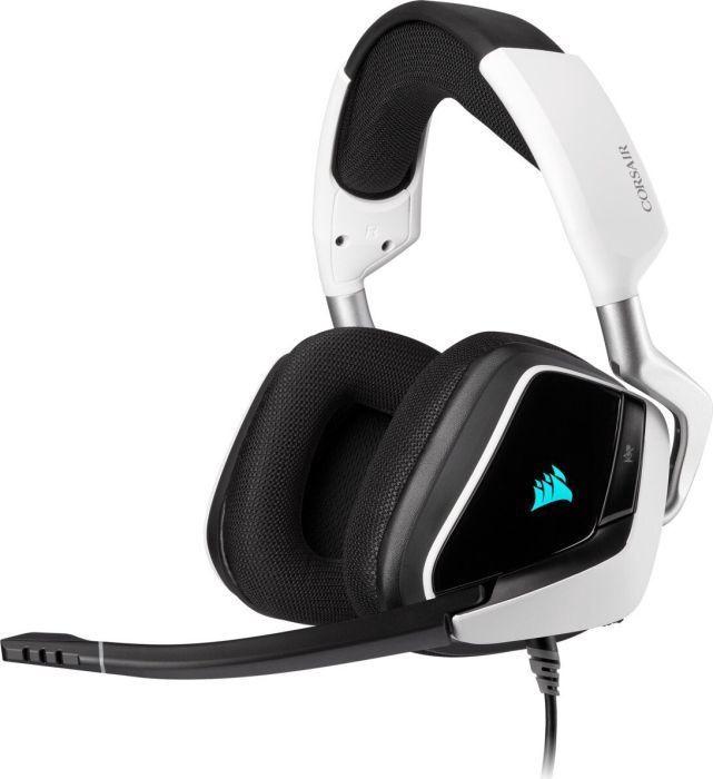 Игровые наушники Corsair Void RGB Elite White