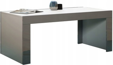 Kafijas galdiņš Pro Meble Milano White/Grey, 1200x600x500 mm