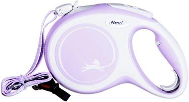 Поводок Flexi New Comfort, розовый, 8 м