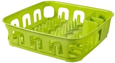 Trauku žāvētājs Curver Dish Dryer Essentials 39x39x10,1cm Green